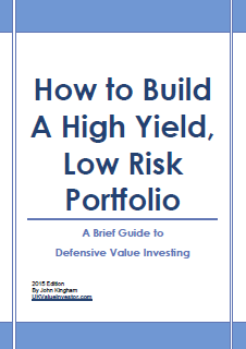 How to Build a High Yield, Low Risk Portfolio