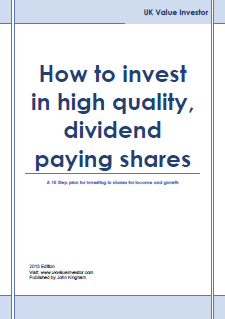 How to invest in high quality dividend paying shares