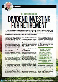 Dividend Hunter Master Investor Magazine April