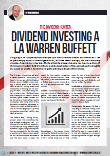 Dividend Hunter Master Investor Magazine May