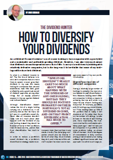 Dividend Hunter Master Investor Magazine June