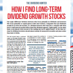 How I find long-term dividend growth stocks