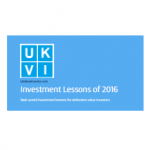 2016 Investment lessons and case studies