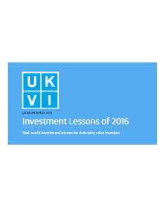 Investment Lessons of 2016 - Cover