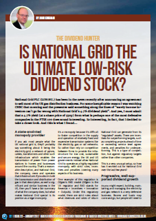 National Grid PLC: The ultimate low-risk dividend stock?