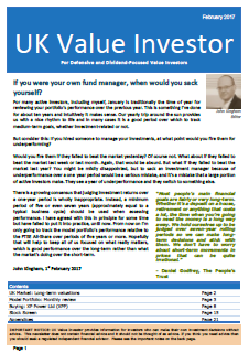 Investment Newsletter