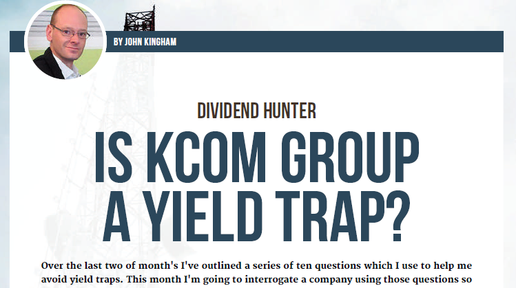 is KCOM Group a yield trap - home 2017 05