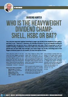 Who is the heavyweight dividend champion? — UK Value Investor