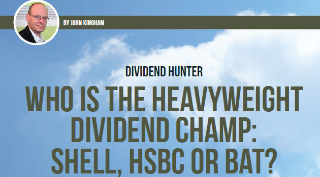 Who is the heavyweight dividend champion?