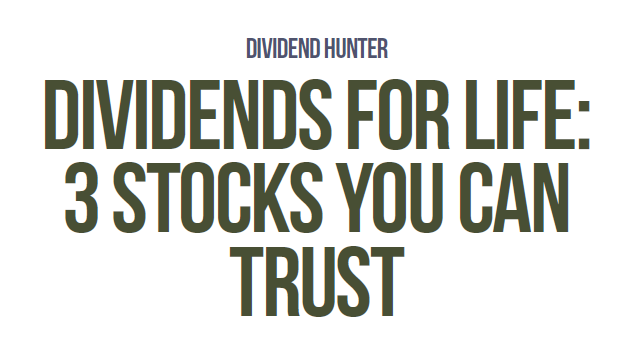 Hunting for trustworthy dividend stocks