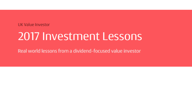 Investment lessons from 2017