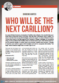 Who will be the next Carillion - cover