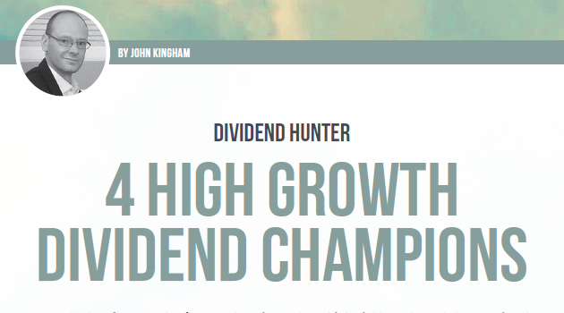 4 High growth dividend champions