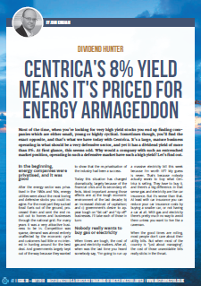 Centrica high dividend yield