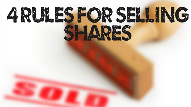 4 Rules for selling shares