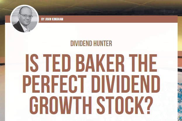 Ted Baker dividend growth stock - feature