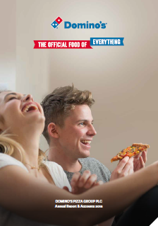 Dominos 2018 annual report cover