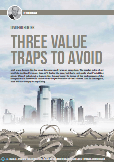 Three value traps