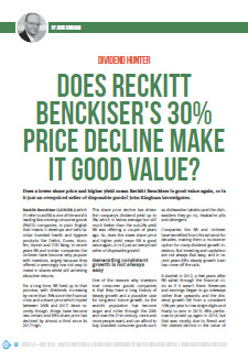 Reckitt Benckiser review 2019 05