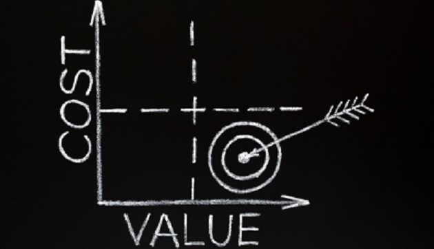 Cost-value graph