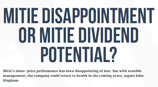 Mitie dividend disaster - cover