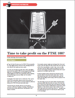 Property Chronicle 2019 6 - FTSE 100 Profits