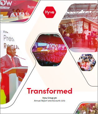 Hyve 2019 12 - 2019 annual report cover